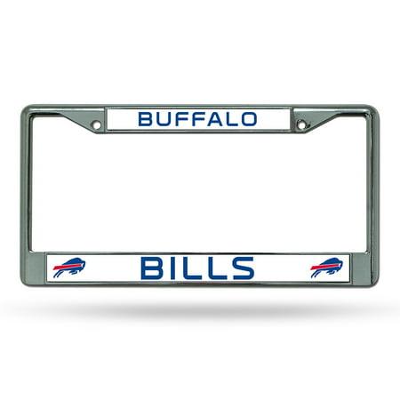 Nfl Buffalo Bills Chrome Licensed Plate Frame - Walmart.com