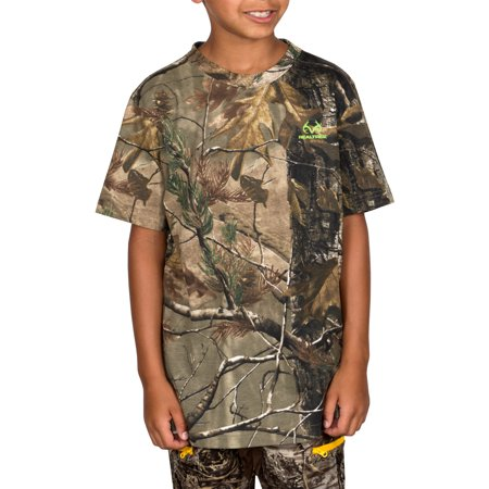 Realtree Youth Short Sleeve Camo