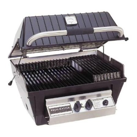 Broilmaster Propane Grill (Broilmaster Premium P4-X Propane Grill Head with Stainless Steel Burner & Aluminum)