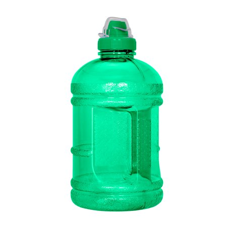 64 Oz Pond Water (1/2 Gallon (64 oz.) BPA FREE Plastic Water Bottle w/48mm Sports Cap)