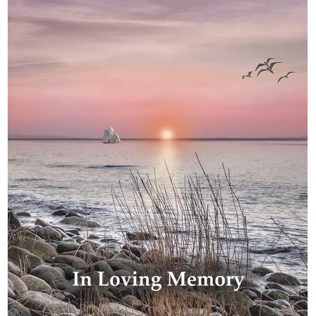 Funeral Guest Book in Loving Memory, Memorial Guest Book, Condolence Book, Remembrance Book for Funerals or Wake, Memorial Service Guest Book : A Celebration of Life and a Lasting Memory for the Family. Hardcover with a Gloss