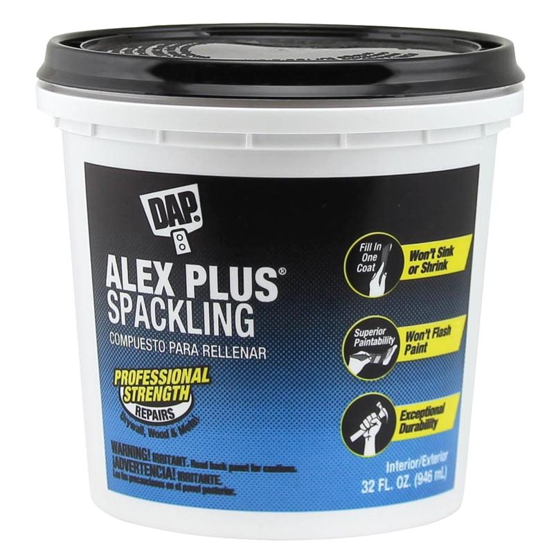 DAP Alex Plus Spackling, 32 oz