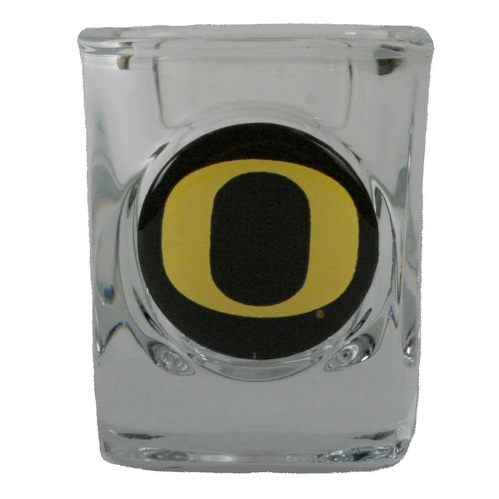 Oregon Ducks Shot Glass - Square 2oz