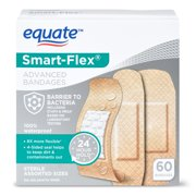 Equate Smart-Flex Advanced Bandages, 60 Count