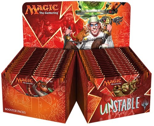 Magic Unstable Booster Box 36 packs MTG TCG Card Game by Wizards of the Coast