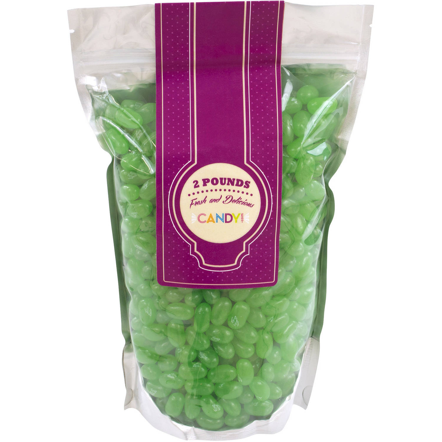 Jelly Belly Green Apple Jelly Beans, 2 lbs by Jelly Belly