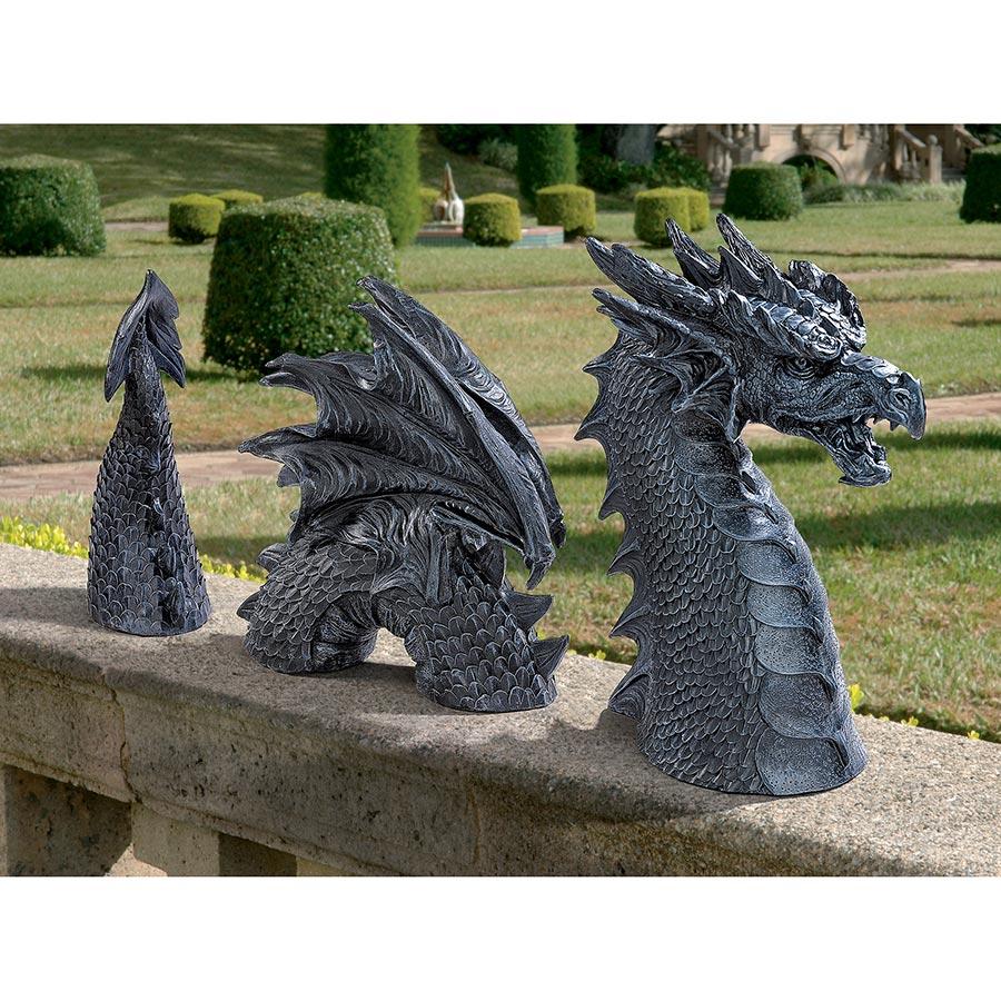 Design Toscano The Dragon of Falkenberg Castle Moat Lawn Statue