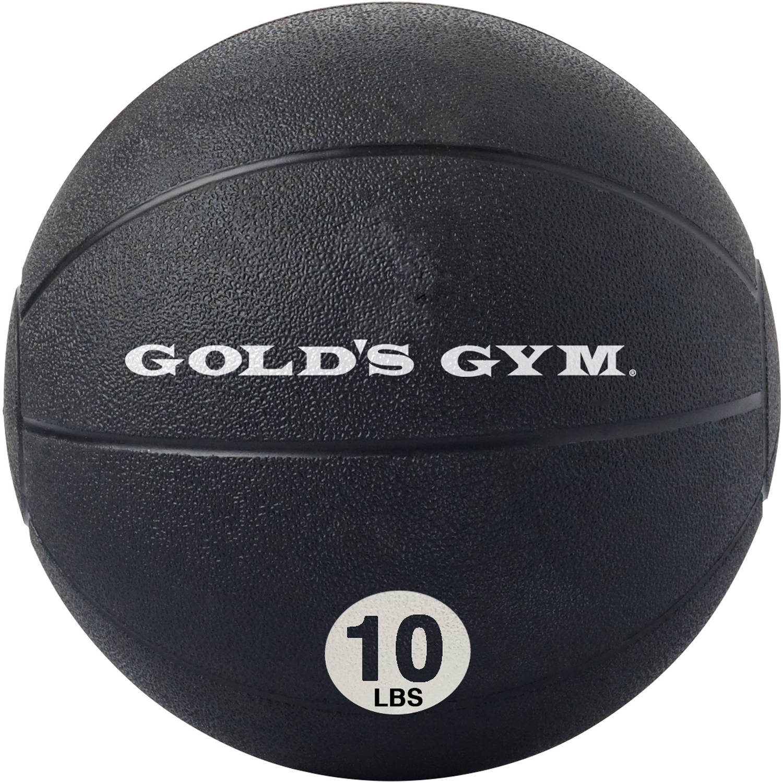Gold's Gym 10 lb Medicine Ball by