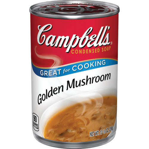 Campbell's Condensed Golden Mushroom Soup, 10.5 oz.