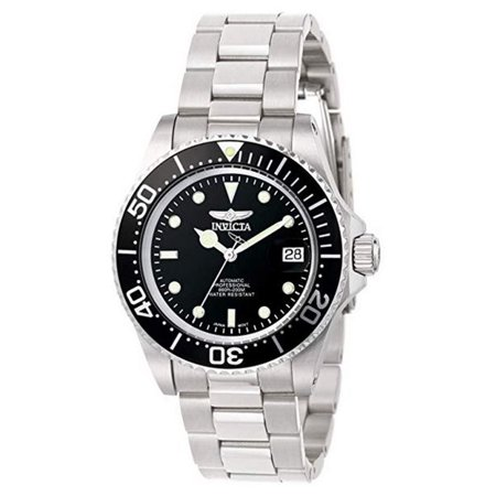 Men's 8926 'Pro Diver' Automatic Stainless Steel Watch Automatic Watch Stainless Steel Band