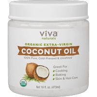 Viva Naturals Organic Extra Virgin Coconut Oil 16 fl oz