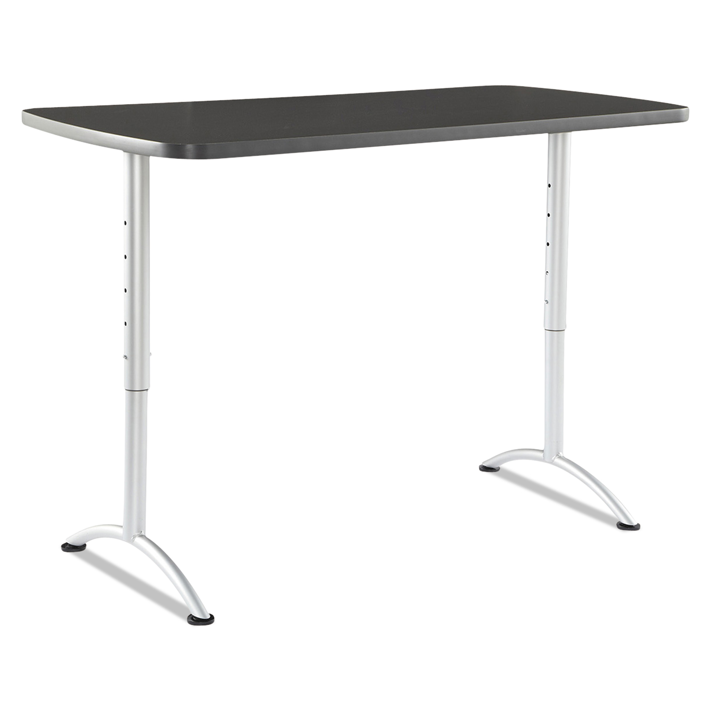 Superior Iceberg ARC Sit To Stand Tables, Rectangular Top, 30w X 60d X