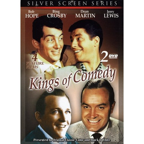 Kings Of Comedy: Road To Bali / My Favorite Brunette / At War With The Army / Road To Hollywood