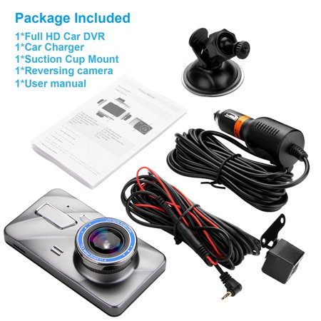 "4"" Vehicle 1080P Car Dashboard DVR Camera Video Recorder G-Sensor Dash Cam - image 5 de 8"
