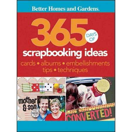 365 Days of Scrapbooking Ideas (Character Day Ideas)