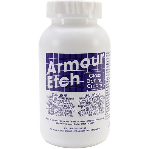 Armour Glass Etch Cream, 22-Ounce