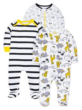 ab34034de Yellow Baby Pajamas - Walmart.com