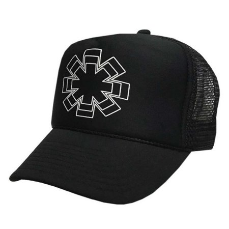 Bravado Red Hot Chili Peppers Men's Trucker Baseball Cap Hat Snapback BGCHRH07