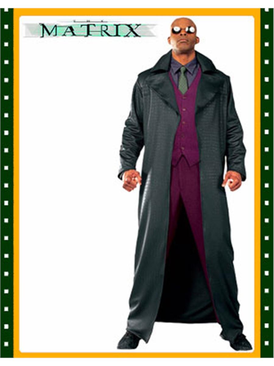 The Matrix Keanu Reeves Neo Replica Costume 1st Movie////jh