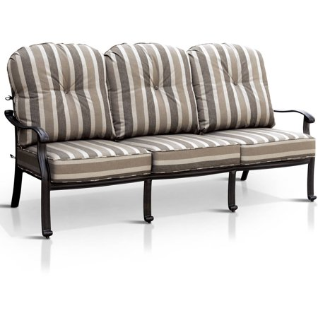 Outstanding Furniture Of America Bellamy Patio Sofa Antique Black Pdpeps Interior Chair Design Pdpepsorg