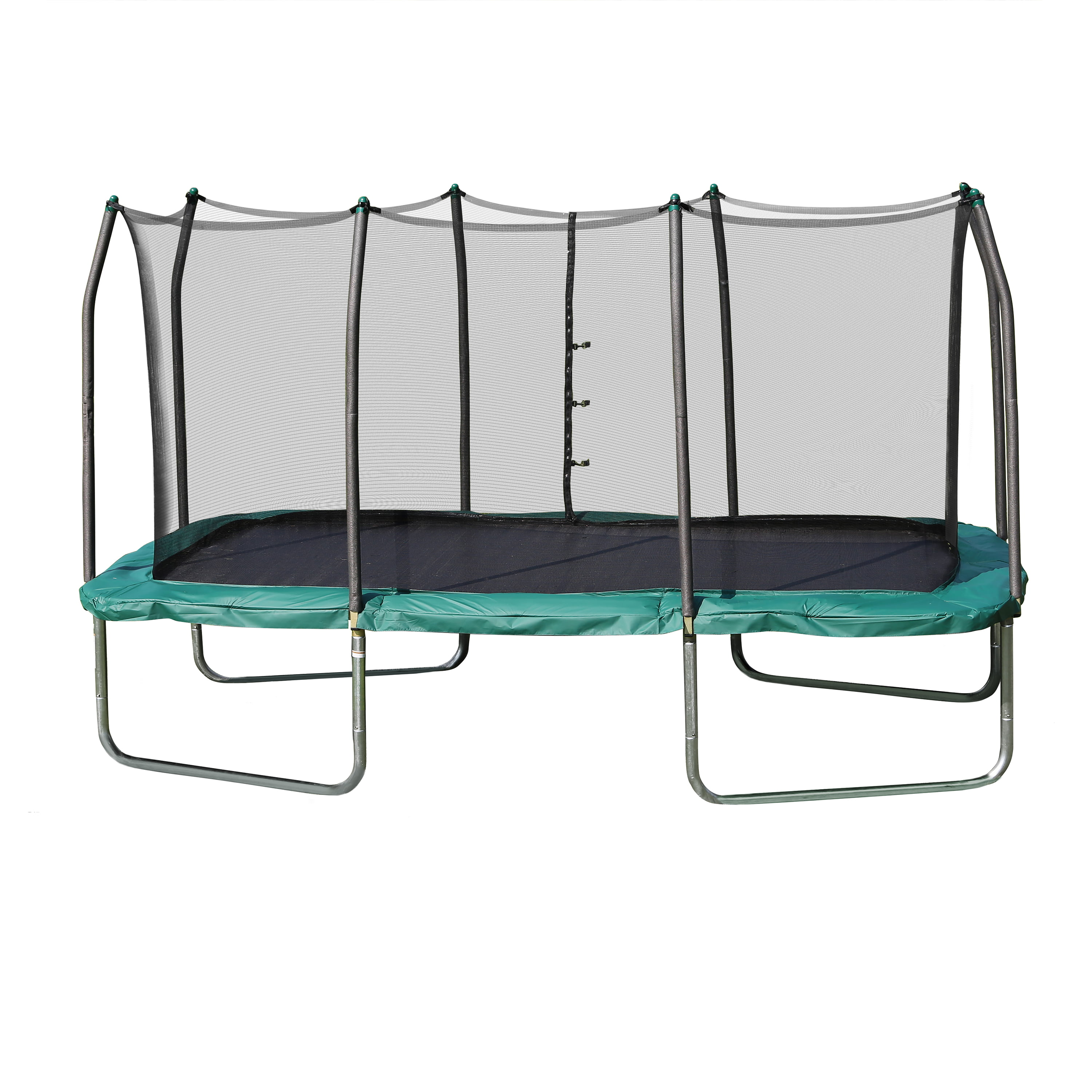 Skywalker Trampolines Rectangle 8 X 14 Foot Trampoline Green Box 1 Of 2 Com