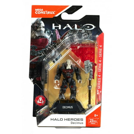 Mega Construx Halo Heroes Legendary Spartans Decimus