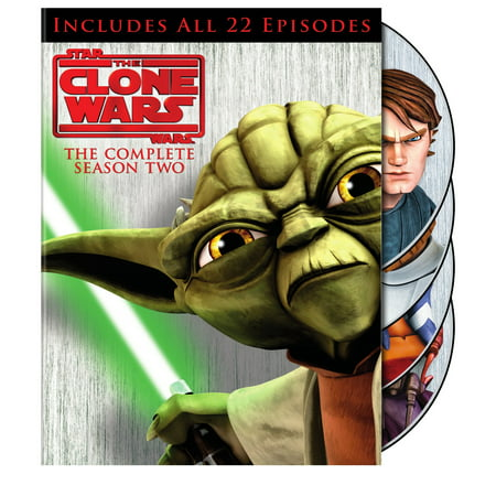 Star Wars: The Clone Wars: The Complete Season Two (DVD)