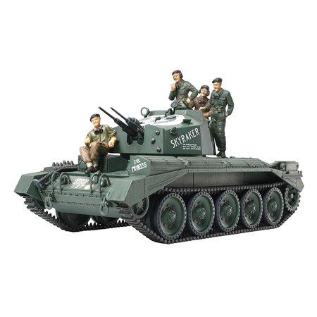 Anti Aircraft Tank (Crusader Mk III Anti-Aircraft Tank 1/48, Modelling Skills Helpful is Under 10 Years of age By Tamiya Ship from US)