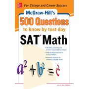 500 SAT Math Questions to Know by Test Day - eBook
