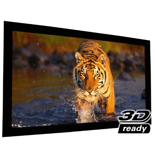 """EluneVision Reference AudioWeave 4K Fixed Frame Screen - Audio-Transparent Material - 150"""" (131"""" x 74"""") Viewable - 16:9"""