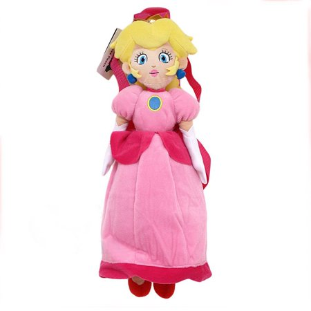 Plush Backpack - - Super Mario Pricess Peach New - Baby Peach Mario