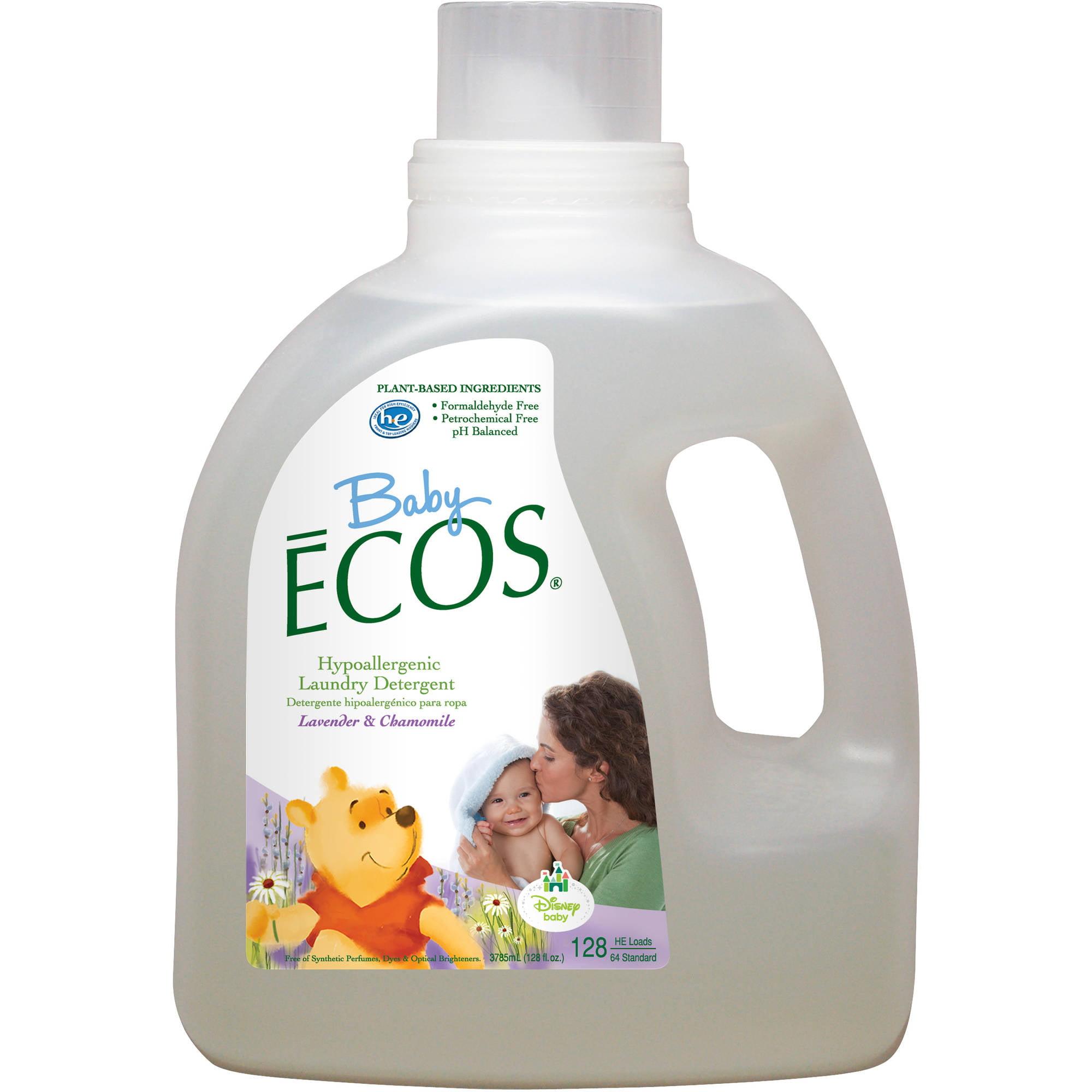Disney Baby ECOS Lavender & Chamomile Laundry Detergent, 128 oz