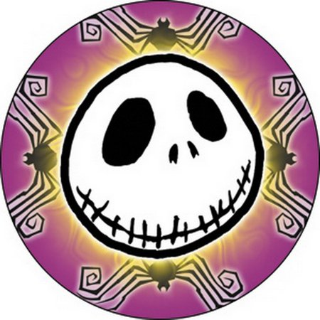 Nightmare Before Xmas Jack Spiders Button B-DIS-0418