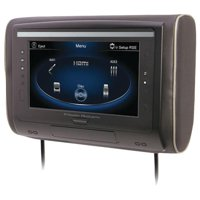 """Power Acoustik H-94 9"""" LCD Universal Headrest with IR and FM Transmitters and 3 Interchangeable Skins, Monitor Only"""