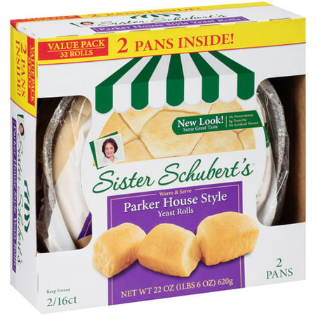 Sister Schubert S Parker House Style Yeast Rolls 32 Count
