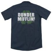 The Office Recycle Mifflin (Back Print) Mens Work Shirt