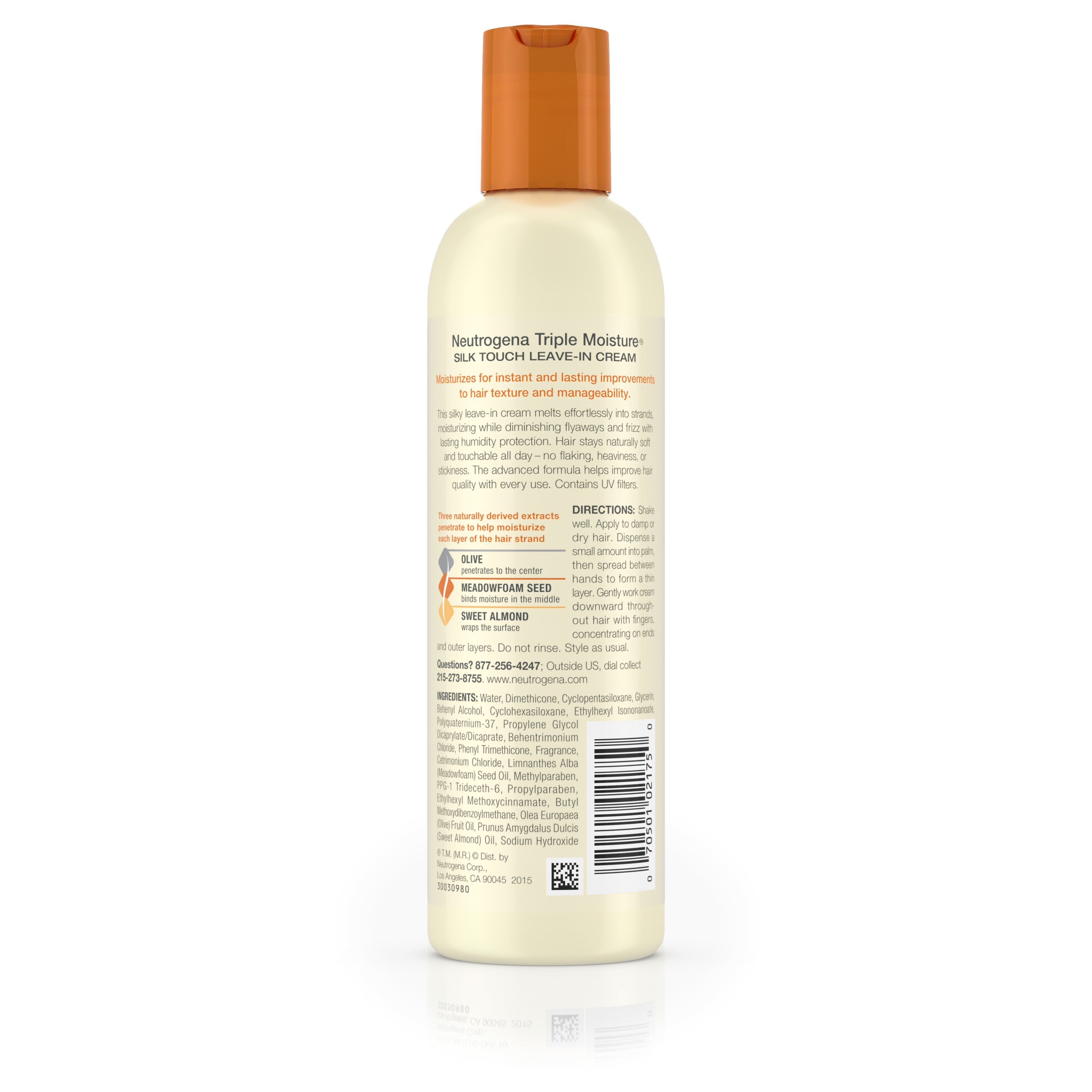 Neutrogena Triple Moisture Silk Touch Leave In Conditioner 6 Fl Oz