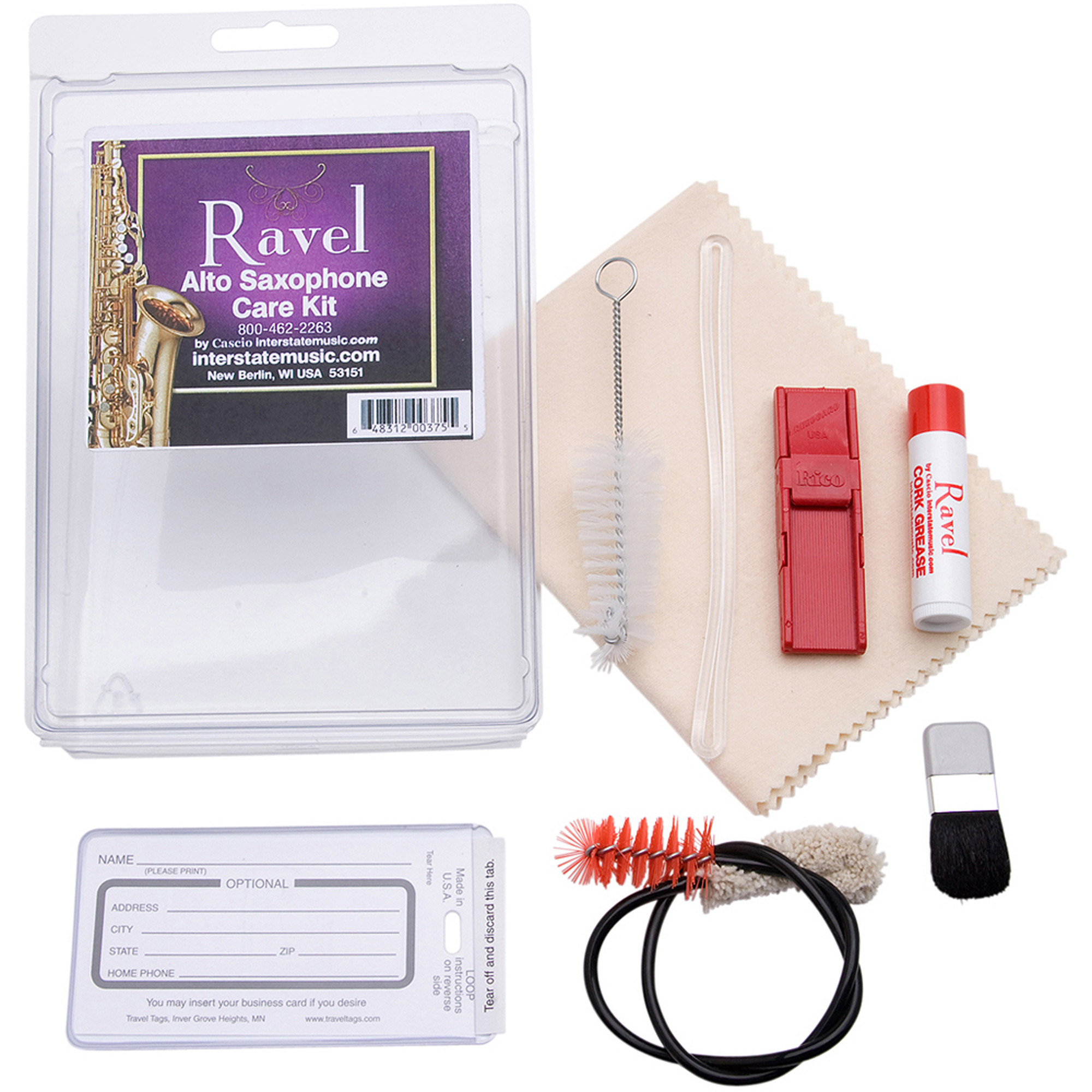 Ravel OP341, Alto Sax Care Kit