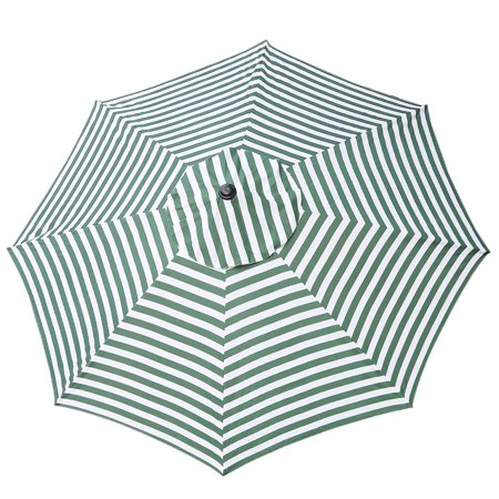 13ft 8 Rib Patio Umbrella Replacement Cover Canopy Outdoor