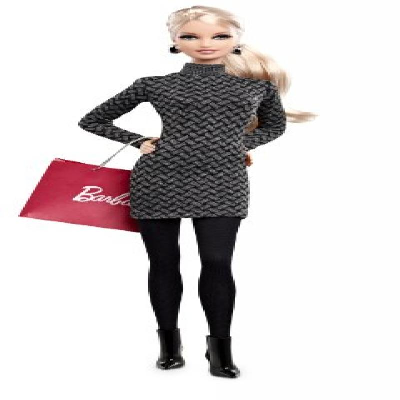 Mattel Barbie Collector The Barbie Look Collection City Shopper Doll with Grey Dress by Mattel