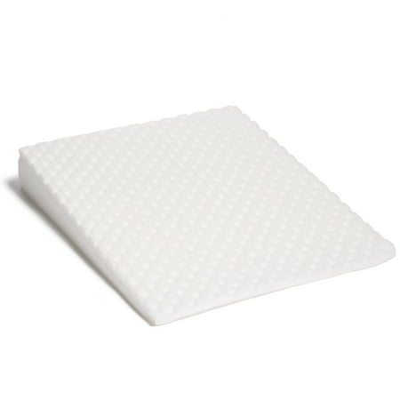 Wedge Pillow Acid Reflux (Acid Reflux Bed Wedge by Hermell Products includes White Quilted cover- FW4060MO)