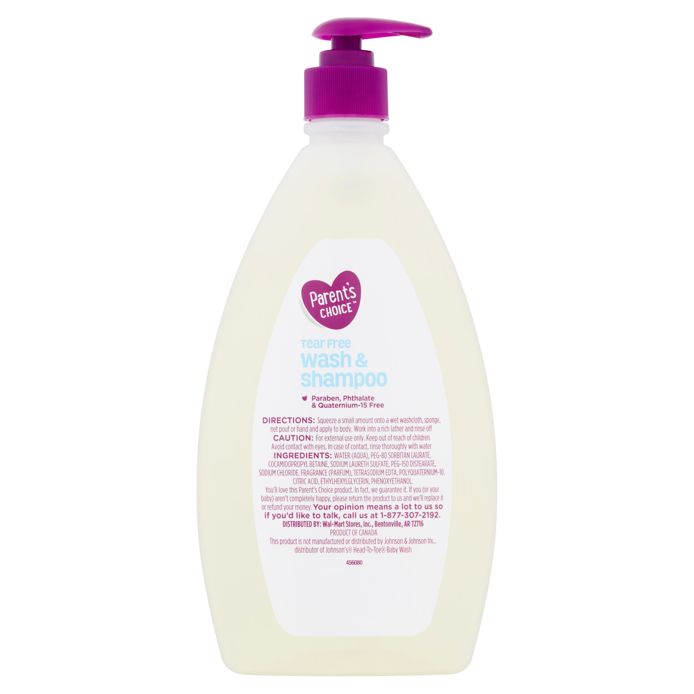 Parent's Choice Tear-Free Baby Wash & Shampoo, 28 fl oz