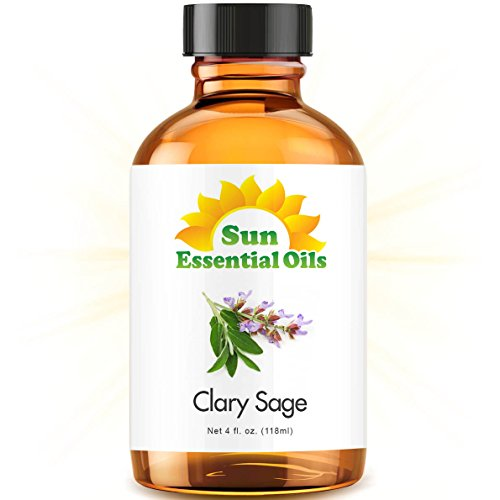 Clary Sage (Large 4oz) Best Essential Oil