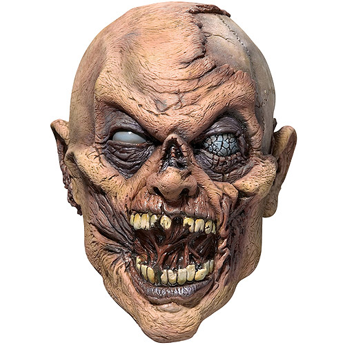 Flesh Eater Adult Halloween Latex Mask Accessory
