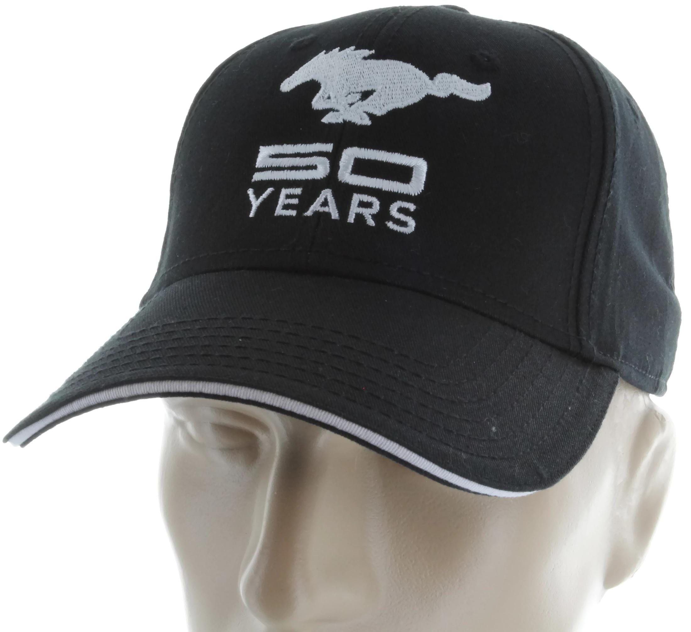 Ford Mustang  Years Black Baseball Cap Trucker Hat Snapback Gt Cobra