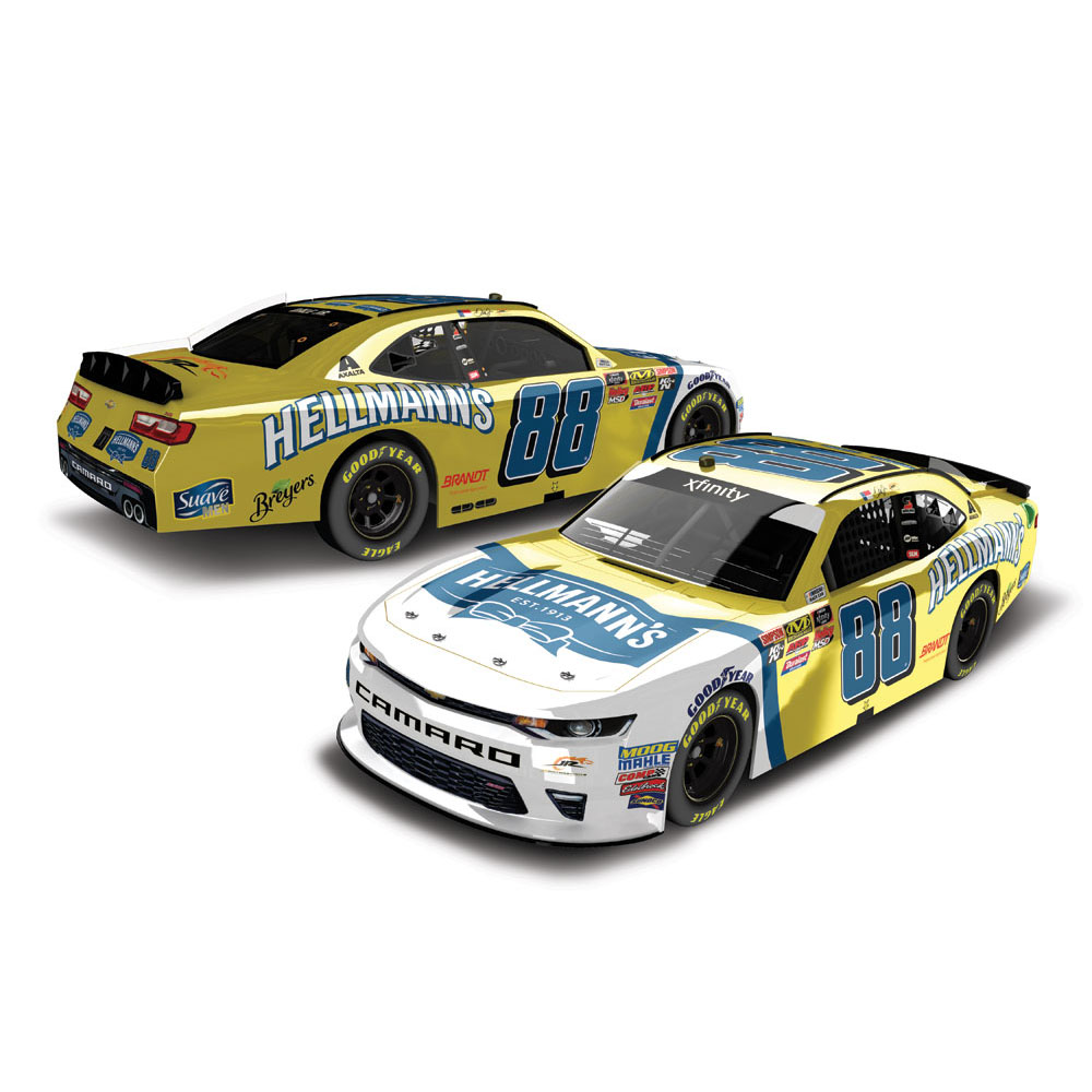 Dale Earnhardt Jr. Action Racing 2018 #88 Hellman's Nascar Xfinity Series 1:24 Color... by Lionel LLC