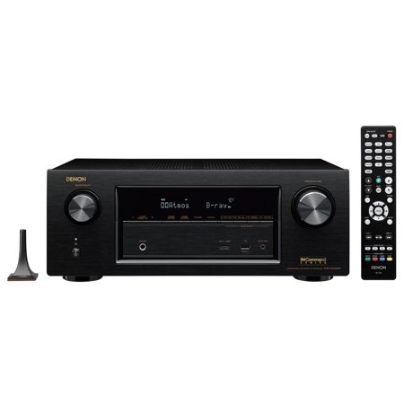 Denon AVR-X2200W 7.2 Channel Receiver with Wi-Fi, Bluetooth, Apple AirPlay & Dolby Atmos