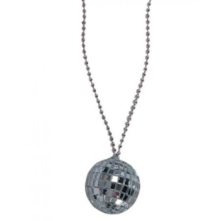 Disco Ball Necklaces (Rhode Island Novelty JNDISC2 2-Inch Disco Ball Necklace with 30-Inch Chain(Dozen),)