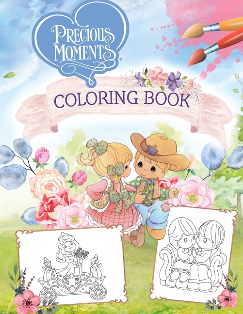 Precious Moments Coloring Book : Ultimate Cutest Coloring Book With High  Quality Images (Paperback) - Walmart.com - Walmart.com