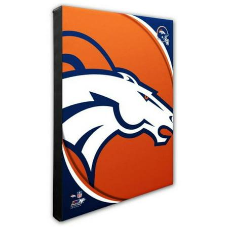 Nfl Hand Signed 16x20 Photograph - Photo File Denver Broncos Team Logo Canvas Print Picture Artwork 16x20 NFL CO